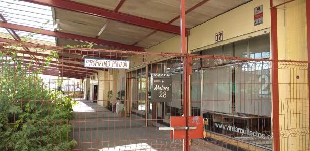 Viviendas ilegales en el Mercado 2 del Poblado Dirigido de Fuencarral
