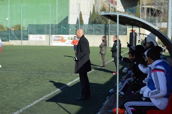 Zinedine Zidane da ordenes al Real Madrid Castilla en La Canaleja